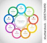 infographic design elements for ...   Shutterstock .eps vector #1005744490