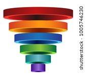 an image of a 3d segmented... | Shutterstock .eps vector #1005746230