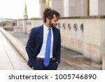 attractive businessperson... | Shutterstock . vector #1005746890