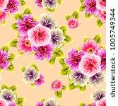 abstract elegance seamless... | Shutterstock . vector #1005749344