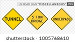 road sign. miscellaneous. ... | Shutterstock .eps vector #1005768610