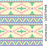 seamless indian pattern in... | Shutterstock .eps vector #100576948