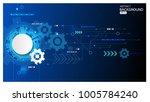 vector background abstract... | Shutterstock .eps vector #1005784240