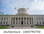 ohio statehouse state capitol... | Shutterstock . vector #1005790750