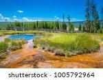 yellowstone national park   gem ... | Shutterstock . vector #1005792964