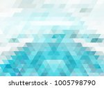 triangle mosaic background... | Shutterstock . vector #1005798790