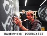 portrait of the master... | Shutterstock . vector #1005816568