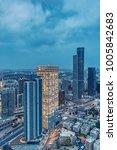 city skyline  ramat gan  at...   Shutterstock . vector #1005842683