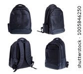 backpack isolated on white... | Shutterstock . vector #1005846250