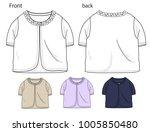 vector illustration of girls... | Shutterstock .eps vector #1005850480