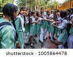 new delhi  india   november 5 ... | Shutterstock . vector #1005864478