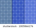 set of geometric ornaments.... | Shutterstock .eps vector #1005866176