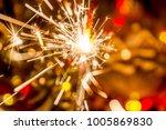 christmas new year  bokeh   Shutterstock . vector #1005869830