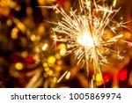 christmas new year | Shutterstock . vector #1005869974