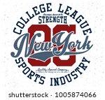 sports graphic design | Shutterstock .eps vector #1005874066