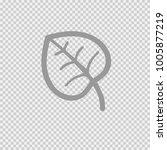 leaf vector icon eps 10. autumn ...