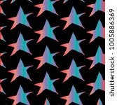 vector stars background. stars... | Shutterstock .eps vector #1005886369