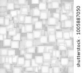 banner squares black and gray.... | Shutterstock .eps vector #1005887050