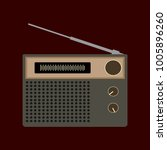 radio design icon | Shutterstock .eps vector #1005896260