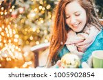 close up portrait of young...   Shutterstock . vector #1005902854