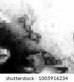 black and white halftone.... | Shutterstock .eps vector #1005916234