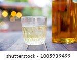 close up booze glass  booze...   Shutterstock . vector #1005939499