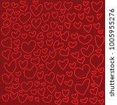 heart pattern backgrounds | Shutterstock .eps vector #1005955276