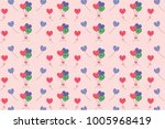 pink blue green colorfulshape... | Shutterstock .eps vector #1005968419