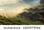 ban rak thai  a chinese...   Shutterstock . vector #1005979966
