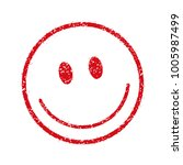 emoticons  face stamp icon ... | Shutterstock .eps vector #1005987499