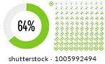 set of circle percentage... | Shutterstock .eps vector #1005992494