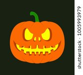 halloween flat icon | Shutterstock .eps vector #1005993979