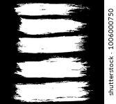 grunge ink brush strokes set.... | Shutterstock .eps vector #1006000750