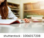 asian students reading and... | Shutterstock . vector #1006017208