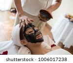 spa concept. young asian woman... | Shutterstock . vector #1006017238