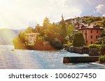 menaggio town  lake como  italy | Shutterstock . vector #1006027450