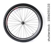 black and alloy bicycle wheel... | Shutterstock . vector #1006050133