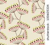 vector background with hand... | Shutterstock .eps vector #100605334