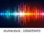 abstract vector futuristic high ... | Shutterstock .eps vector #1006054693