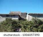 sanatorium roof stairs | Shutterstock . vector #1006057390