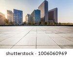 empty floor with modern... | Shutterstock . vector #1006060969