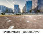 empty floor with modern... | Shutterstock . vector #1006060990