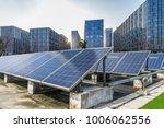 solar and modern city skyline | Shutterstock . vector #1006062556