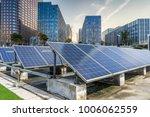 solar and modern city skyline | Shutterstock . vector #1006062559
