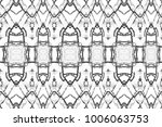 black and white pattern for... | Shutterstock . vector #1006063753