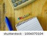 conceptual of revenue  profit...   Shutterstock . vector #1006070104