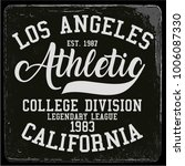 vintage varsity graphics and... | Shutterstock .eps vector #1006087330