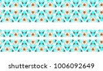 colorful horizontal seamless... | Shutterstock . vector #1006092649