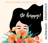 international women's day.... | Shutterstock .eps vector #1006093423