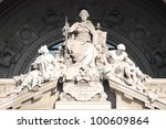 Statue Of Justice Goddess In...